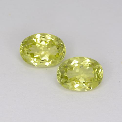 1.4ct Oval Facet Medium Yellow Sillimanite Gem (ID: 411629)