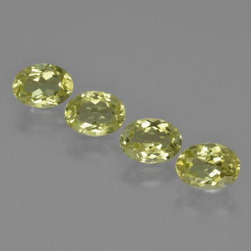 Medium Yellow Sillimanite Gem - 0.9ct Oval Facet (ID: 411723)