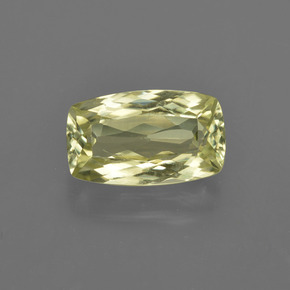 Medium Yellow Sillimanite gemme - 1.8ct Coussin-coupe (ID: 411766)