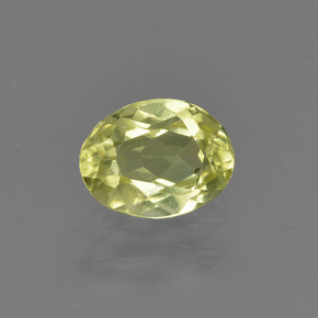Buy 0.79 ct Green Yellow Sillimanite 6.68 mm x 5.1 mm from GemSelect (Product ID: 411790)