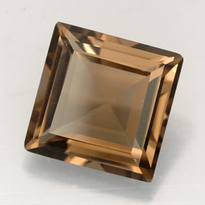 Buy 3.95 ct Smoky Brown Smoky Quartz 10.07 mm x 10 mm from GemSelect (Product ID: 246953)