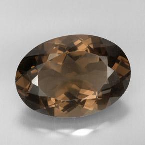 Oval Rose Quartz Gemstone Ring