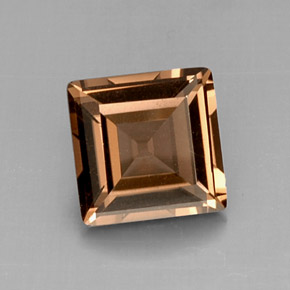 Buy 4.21 ct Smoky Brown Smoky Quartz 10.20 mm x 10.1 mm from GemSelect (Product ID: 288255)