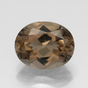 Buy 2.57ct Smoky Brown Smoky Quartz 10.08mm x 8.12mm from GemSelect (Product ID: 320207)