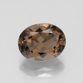 Buy 2.54 ct Smoky Brown Smoky Quartz 10.01 mm x 7.9 mm from GemSelect (Product ID: 320234)