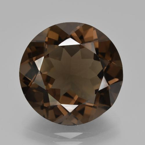 Medium Brown Cuarzo Ahumado Gema - 9.8ct Faceta Redonda (ID: 426892)