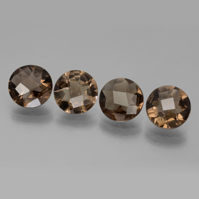Buy 6.14 ct Brown Smoky Quartz 8.08 mm  from GemSelect (Product ID: 443160)
