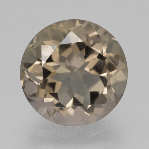 thumb image of 4.4ct Round Facet Brown Smoky Quartz (ID: )
