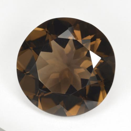 Medium Brown Cuarzo Ahumado Gema - 17.9ct Faceta Redonda (ID: 494048)