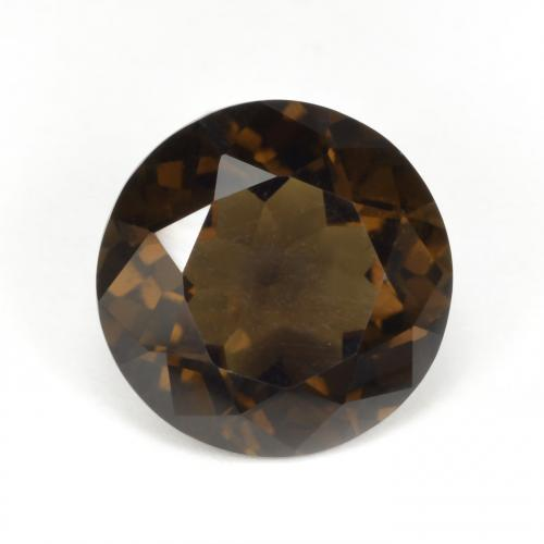 thumb image of 5.4ct Round Facet Brown Smoky Quartz (ID: 494816)