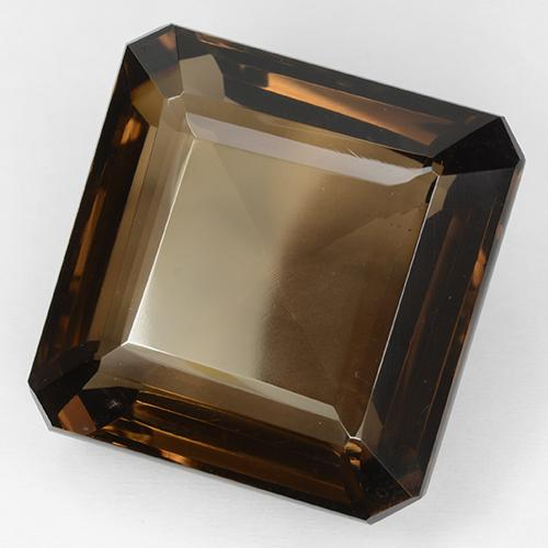 Brown Smoky Quartz Gem - 97.4ct Octagon Step Cut (ID: 509157)
