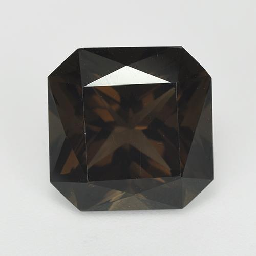 Chocolate Brown Cuarzo Ahumado Gema - 7.4ct Forma octagonal (ID: 514164)