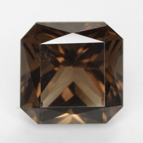 Medium Brown Cuarzo Ahumado Gema - 10.2ct Corte Octágon / Forma de Tijera (ID: 541138)