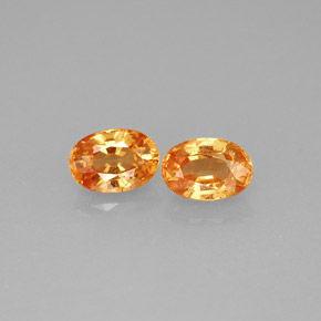 Buy 1.51ct Orange Spessartite Garnet 5.96mm x 4.19mm from GemSelect (Product ID: 241246)