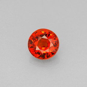 Buy 0.80 ct Mandarin Orange Spessartite Garnet 5.10 mm  from GemSelect (Product ID: 241295)