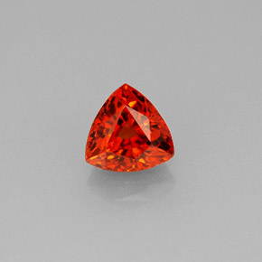 Buy 0.99ct Reddish Orange Spessartite Garnet 5.54mm x 5.49mm from GemSelect (Product ID: 241318)
