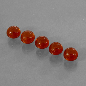 Buy 5.19 ct Red Orange Spessartite Garnet 5.15 mm  from GemSelect (Product ID: 264410)