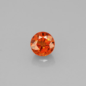 Buy 0.89ct Mandarin Orange Spessartite Garnet 5.18mm  from GemSelect (Product ID: 271336)
