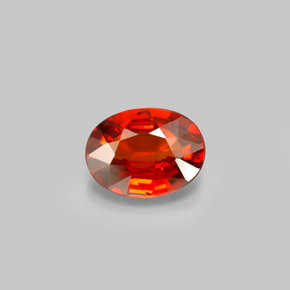 Buy 2.17 ct Orange Red Spessartite Garnet 9.15 mm x 7 mm from GemSelect (Product ID: 296126)