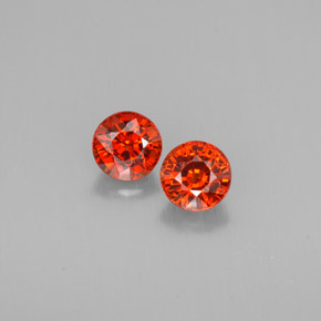 Buy 1.95 ct Red Orange Spessartite Garnet 5.36 mm  from GemSelect (Product ID: 301943)