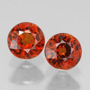 Buy 1.58 ct Red Orange Spessartite Garnet 5.13 mm  from GemSelect (Product ID: 308333)