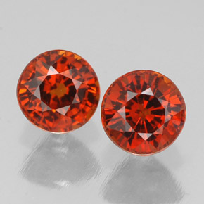 Buy 1.75ct Red Orange Spessartite Garnet 5.17mm  from GemSelect (Product ID: 308335)