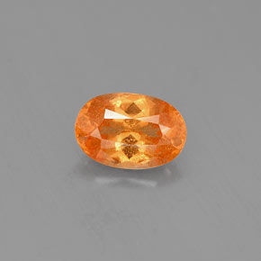 Buy 0.81 ct Orange Spessartite Garnet 6.54 mm x 4.4 mm from GemSelect (Product ID: 310140)