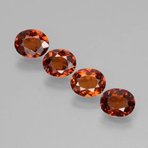 16.65 Ct 100/% Natural Mozambique Garnet Oval Cabochon Loose Gemstone 5 Pcs Price SL-297