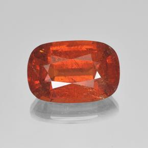 5.2ct Cushion-Cut Orange Spessartite Garnet Gem (ID: 503864)