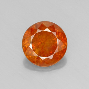 Buy 6.17 ct Orange Sphalerite 11.03 mm  from GemSelect (Product ID: 219375)