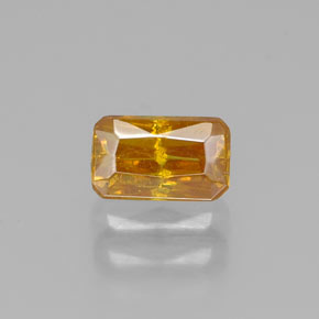 Buy 0.59 ct Yellow Golden Sphalerite 5.57 mm x 3.4 mm from GemSelect (Product ID: 319863)