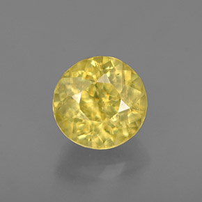 Buy 0.86 ct Yellow Golden Sphene 5.57 mm  from GemSelect (Product ID: 237258)
