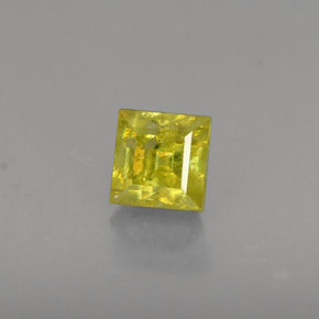 Buy 0.56ct Greenish Golden Sphene 4.12mm x 4.09mm from GemSelect (Product ID: 261656)