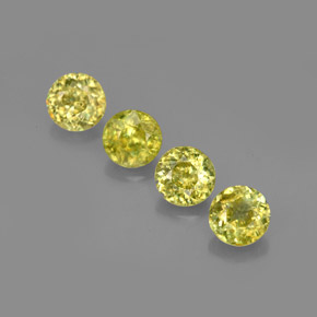 Buy 1.61 ct Yellowish Green Sphene 4.42 mm  from GemSelect (Product ID: 275478)