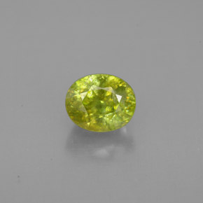 Buy 1.29 ct Yellowish Green Sphene 6.31 mm x 5.2 mm from GemSelect (Product ID: 300122)
