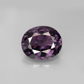 Buy 4.43 ct Deep Purple Spinel 10.96 mm x 9.2 mm from GemSelect (Product ID: 221444)
