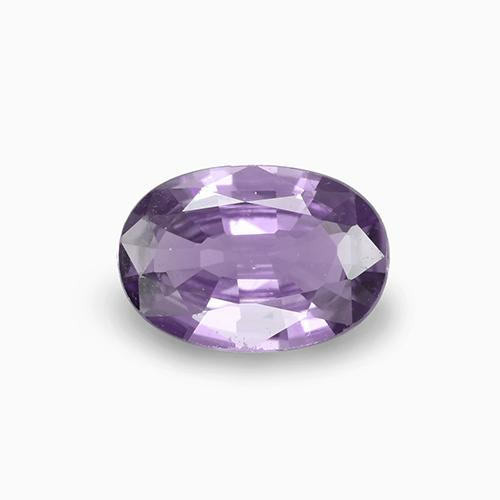 Violet Spinel Gem - 0.7ct Oval Facet (ID: 230867)
