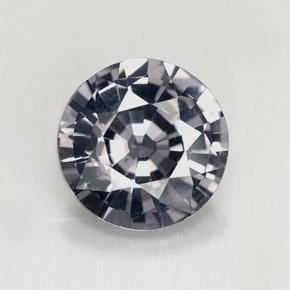 2 3ct silver gray spinel gem from myanmar burma