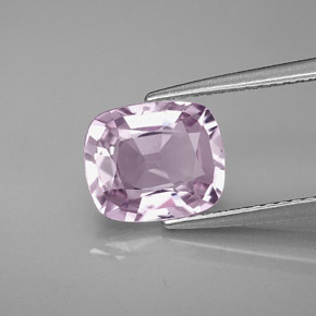 2 4 carat light purple spinel gem from myanmar burma