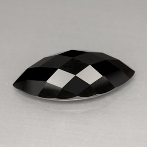 Buy 4.91ct Black Spinel 15.96mm x 8.10mm from GemSelect (Product ID: 272190)