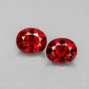 1.42 ct total Natural Red Spinel