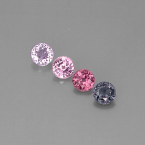 Buy 2.50ct Multicolor Spinel 5.11mm  from GemSelect (Product ID: 290113)