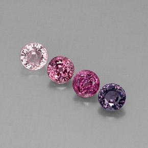 Buy 2.75 ct Multicolor Spinel 5.12 mm  from GemSelect (Product ID: 290118)