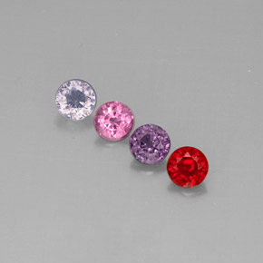 Buy 2.61 ct Multicolor Spinel 5.11 mm  from GemSelect (Product ID: 290140)