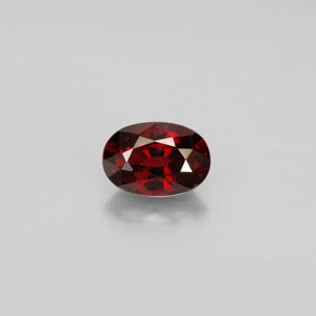Buy 0.78 ct Deep Red Spinel 6.54 mm x 4.6 mm from GemSelect (Product ID: 301544)