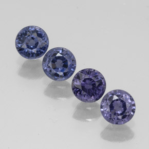 Buy 1.19ct Violet Blue Spinel 3.90mm  from GemSelect (Product ID: 304792)
