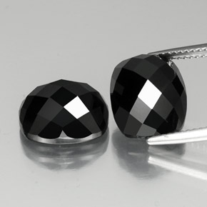 thumb image of 14.6ct Cushion Rose-Cut Black Spinel (ID: 335820)