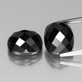 thumb image of 14.6ct Cushion Rose-Cut Black Spinel (ID: 335821)