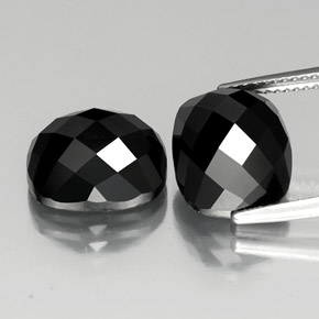 thumb image of 15ct Cushion Rose-Cut Black Spinel (ID: 335823)