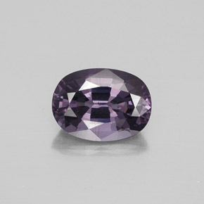 Medium Purple Spinello Gem - 1.4ct Ovale sfaccettato (ID: 349312)